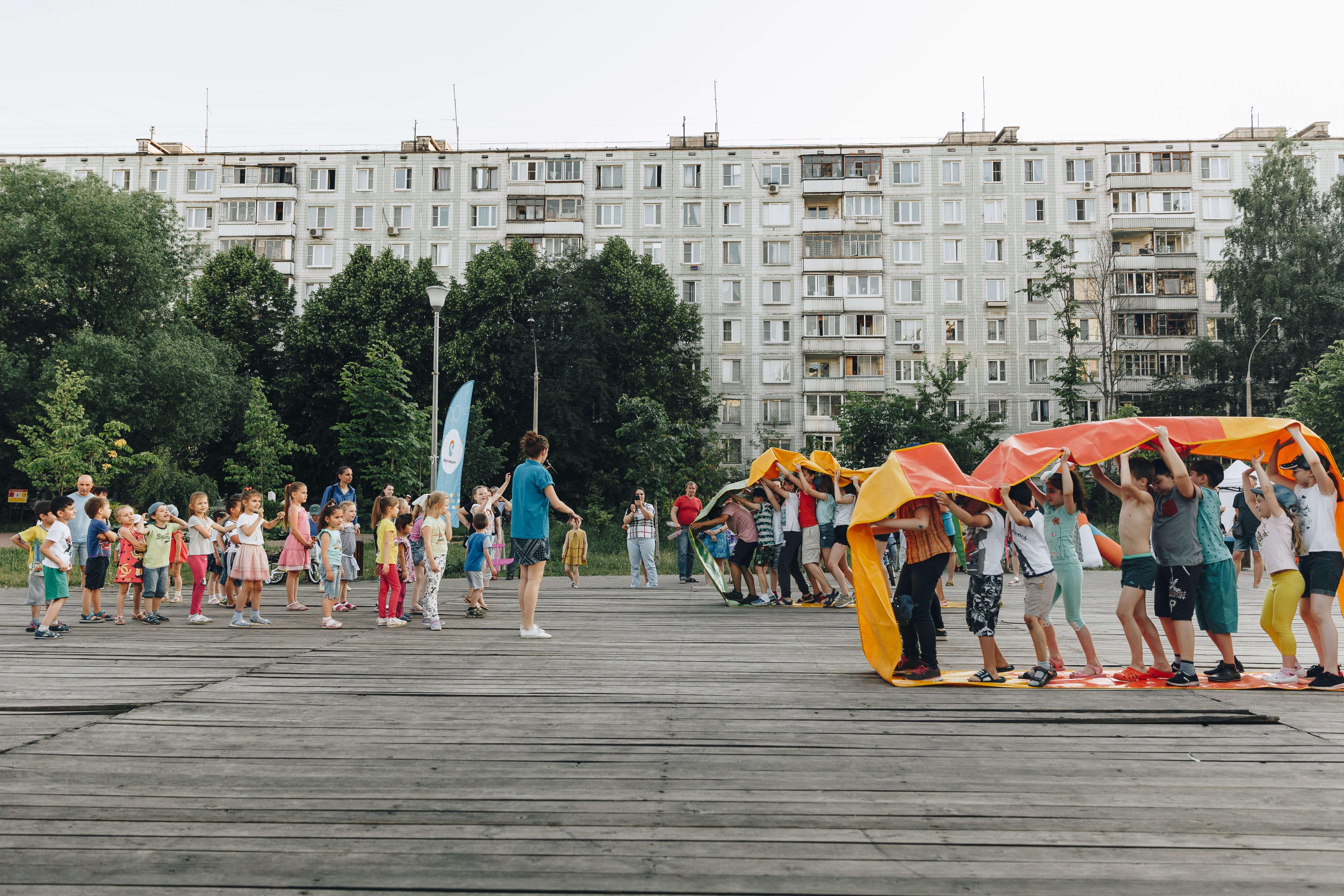 Мероприятия во дворах