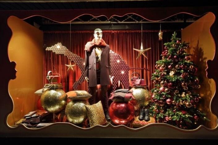 В ожидании Новогоднего чуда. Актуальные тренды оформления новогодних витрин.