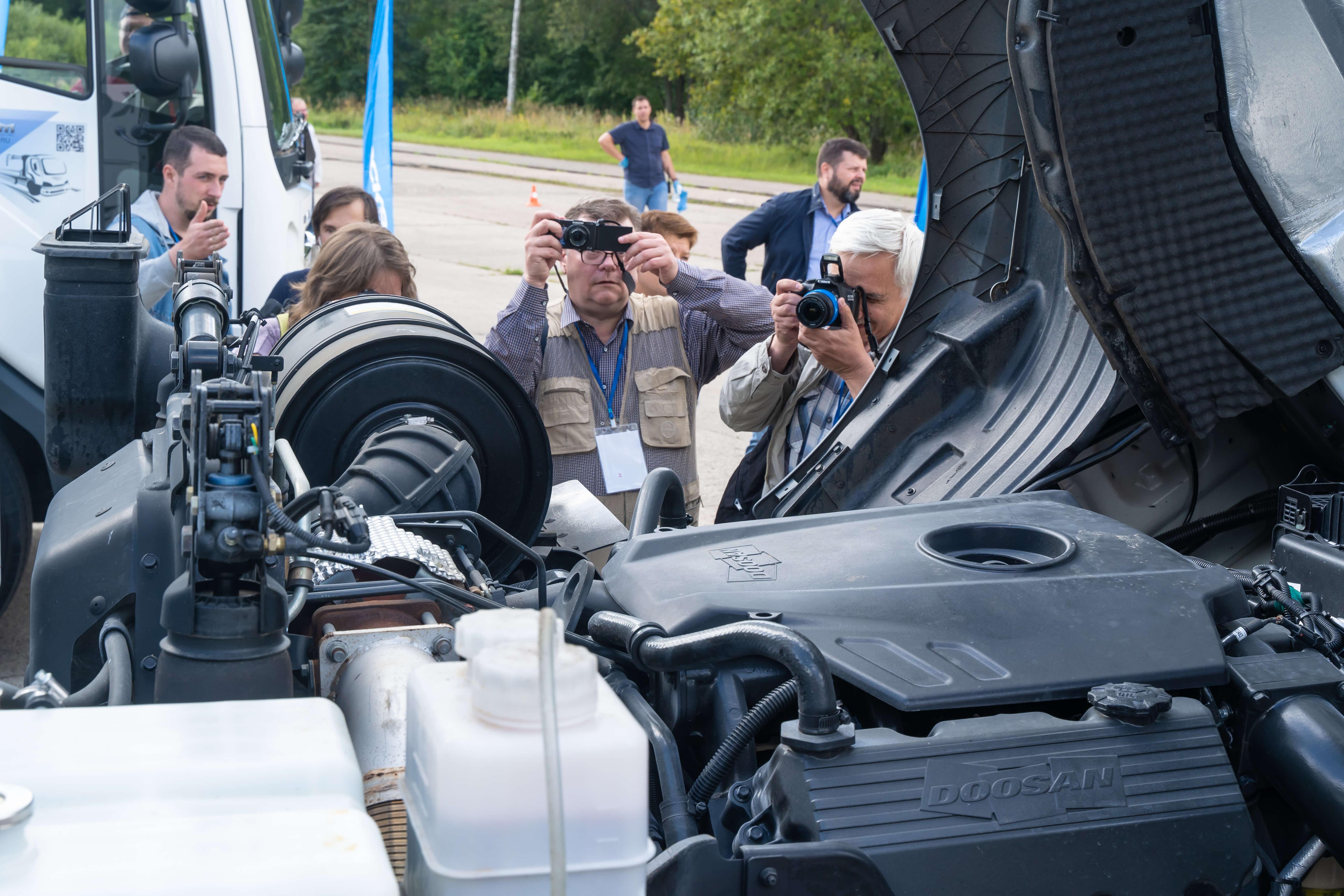 Организация тест-драйва автомобилей для журналистов